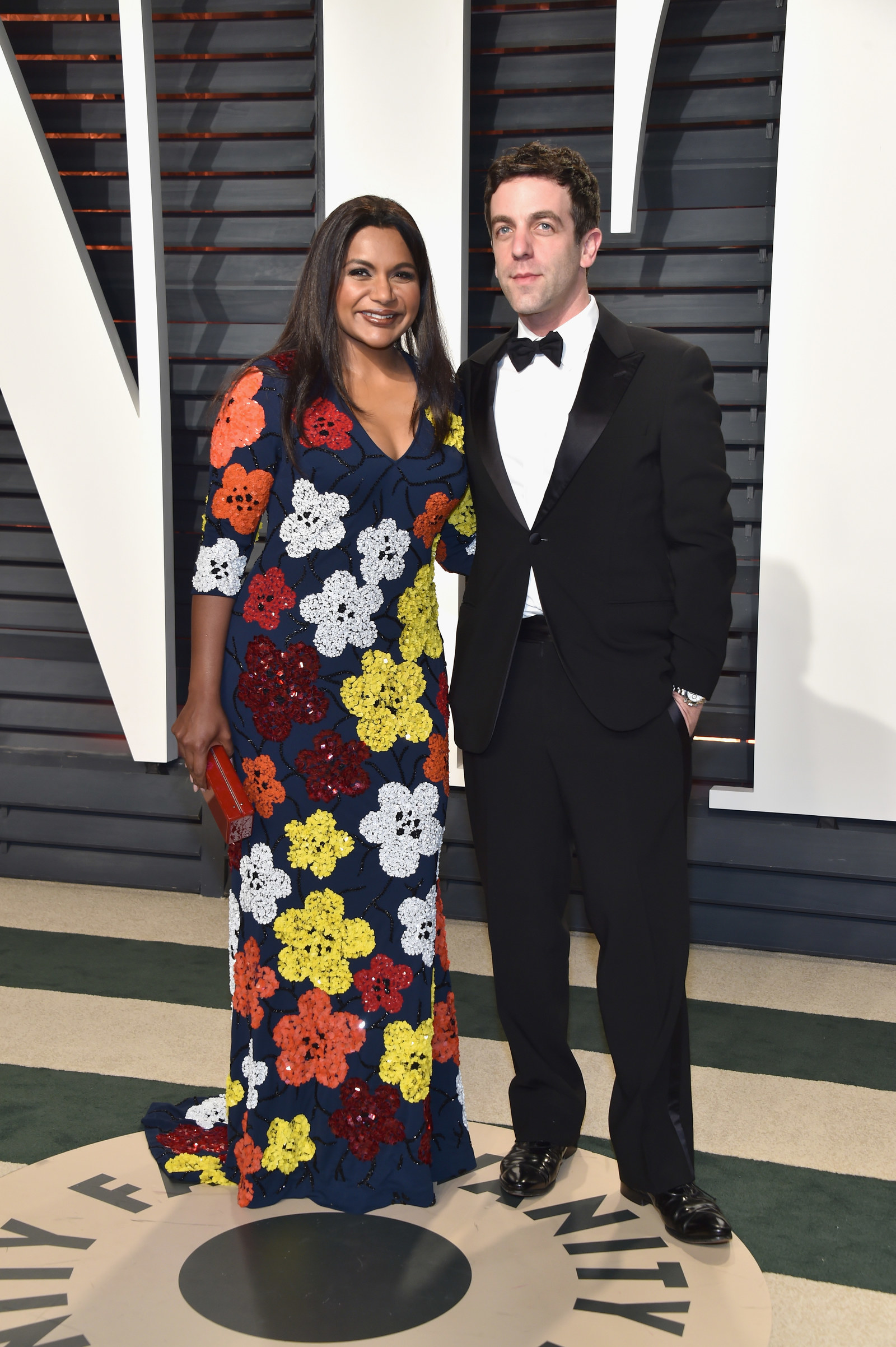 """I no longer measure the passage of time in """"months"""" and """"years"""" — instead, life is just defined as the time between Mindy Kaling and BJ Novak appearances at the Vanity Fair  Oscars party ."""