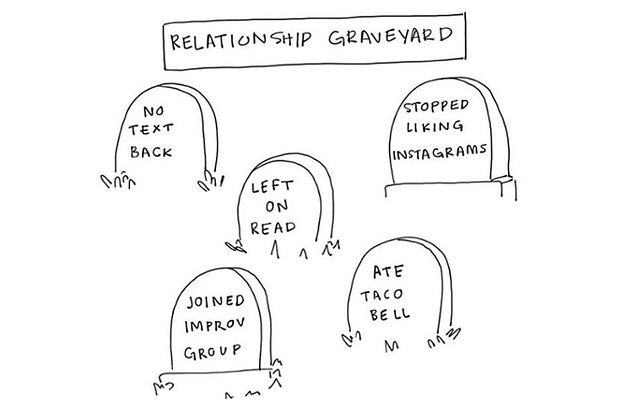 This Cartoonist Illustrates What Dating As A Millennial Is Like, And Honestly, She's Not Wrong