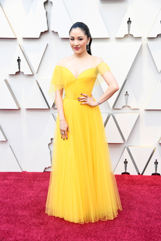 """The Reason """"Crazy Rich Asians"""" Star Constance Wu Wore Yellow To The Oscars Almost Made Me Cry"""