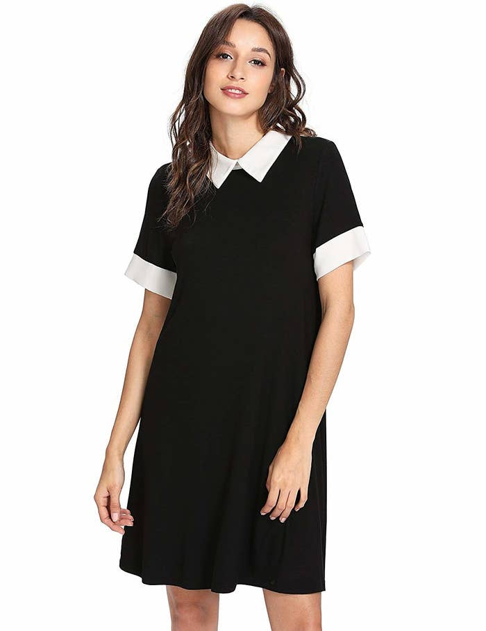 6bbc1225430 27. A collared swing dress so you can channel your inner Wednesday Addams.
