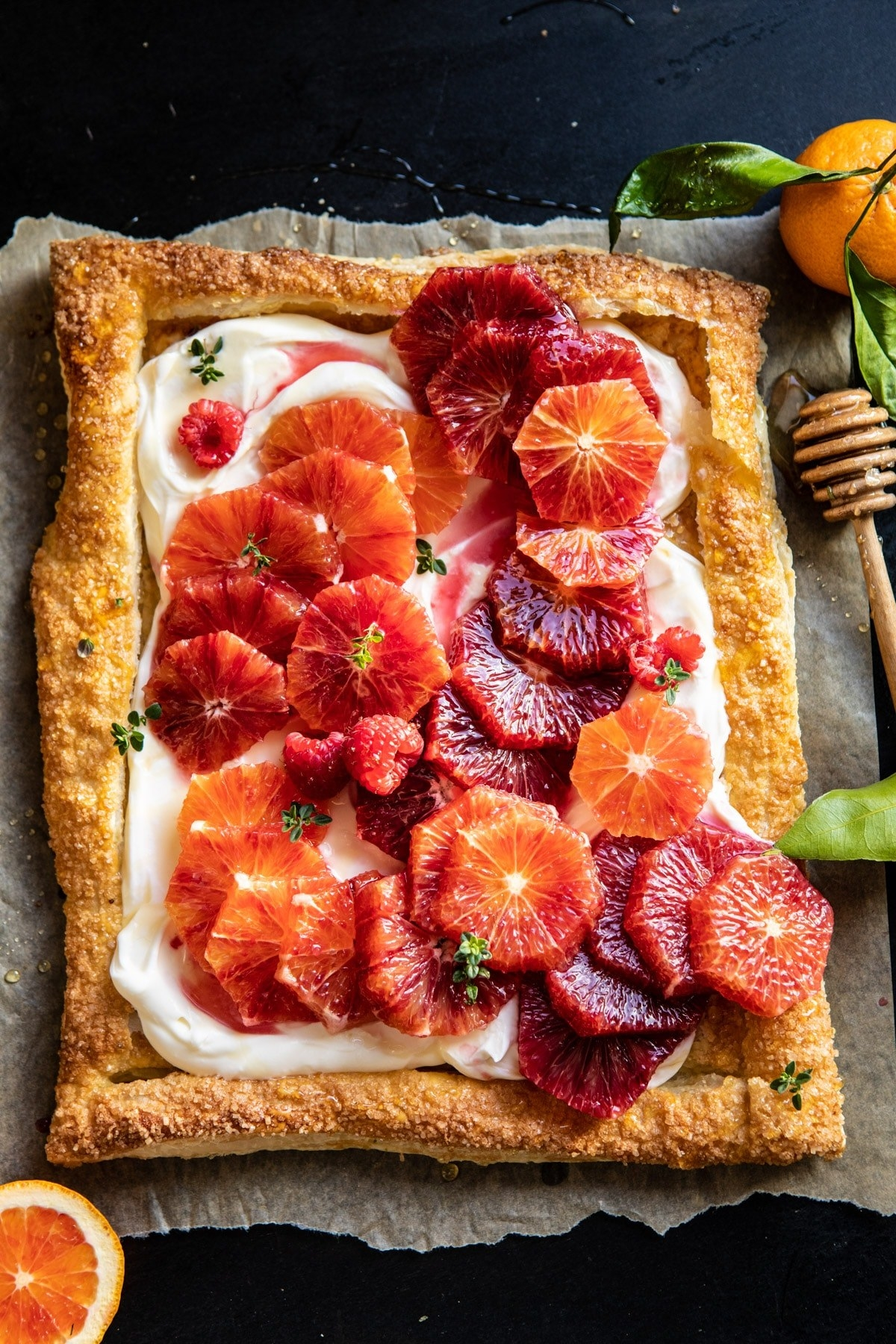 Although this tart may look like a ton of work, it's actually pretty simple. The hardest part will be cutting the citrus into nice rounds, but after that it's a breeze. Get the recipe.