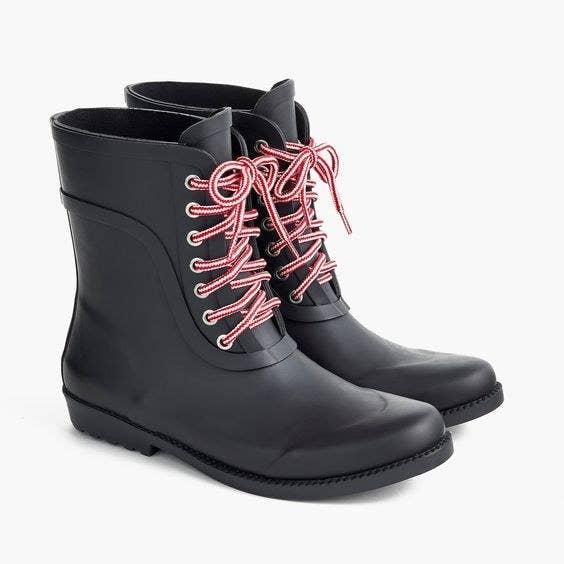 Crew Ladies Designer Wellington Boots £55 Pink Size 5 Limited Stock