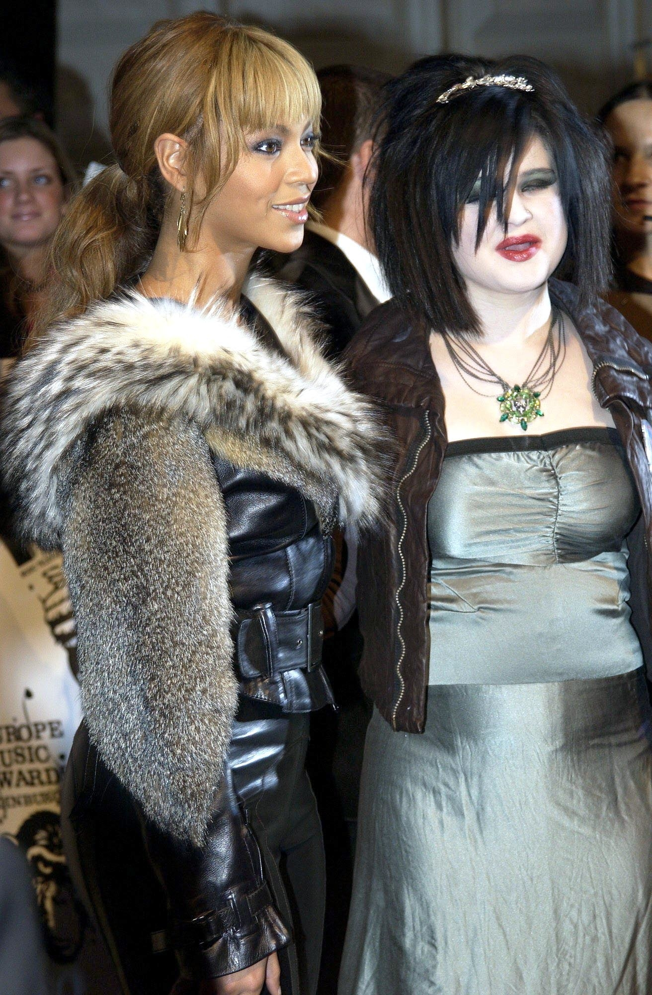 """With Samara from """"The Ring."""""""