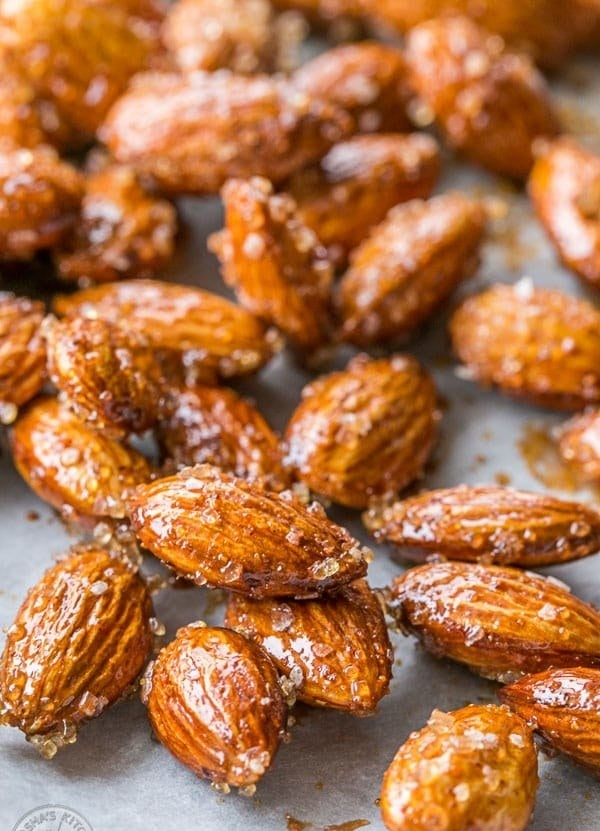 Stick with almonds or try this same delicious seasoning on any mixed nuts. The result is always delicious. Get the recipe here.