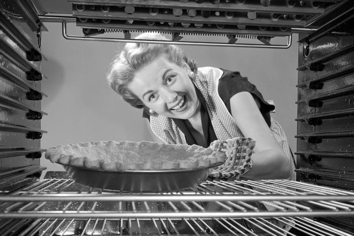 A photograph advertising the 1951 Grand National Baking Contest.