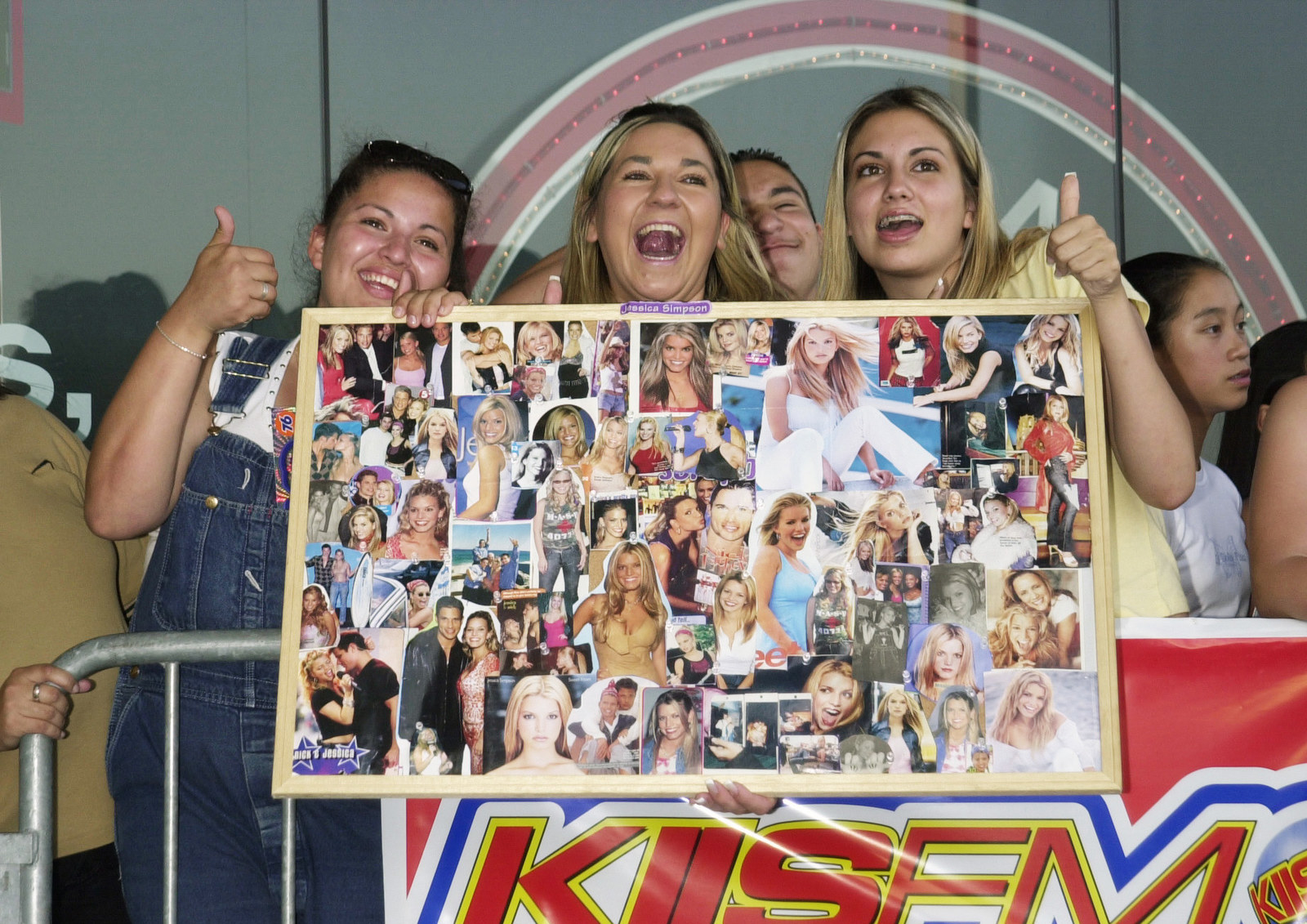 jessica simpson fans with a jessica collage
