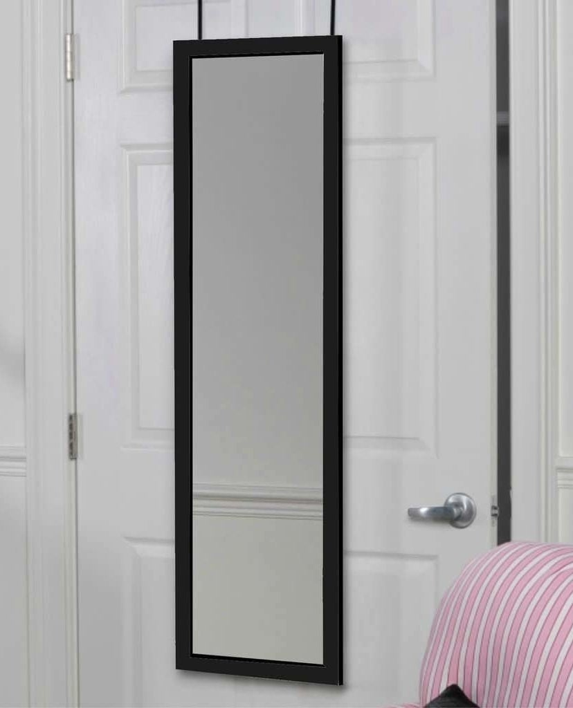 "Promising review: ""This mirror does not disappoint. It came in perfect condition and was very quick and easy to assemble. It is lightweight and not bulky. It fits perfectly over my standard size door. Contrary to the photo, the handles attached to the mirror are white not black. I love how it makes my room look bigger. I am very happy with my purchase."" —Courtney GGet it from Amazon for $39.99+ (available in three sizes and in white, black, and brown)."