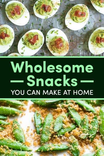 15 Homemade Wholesome Snacks To Keep
