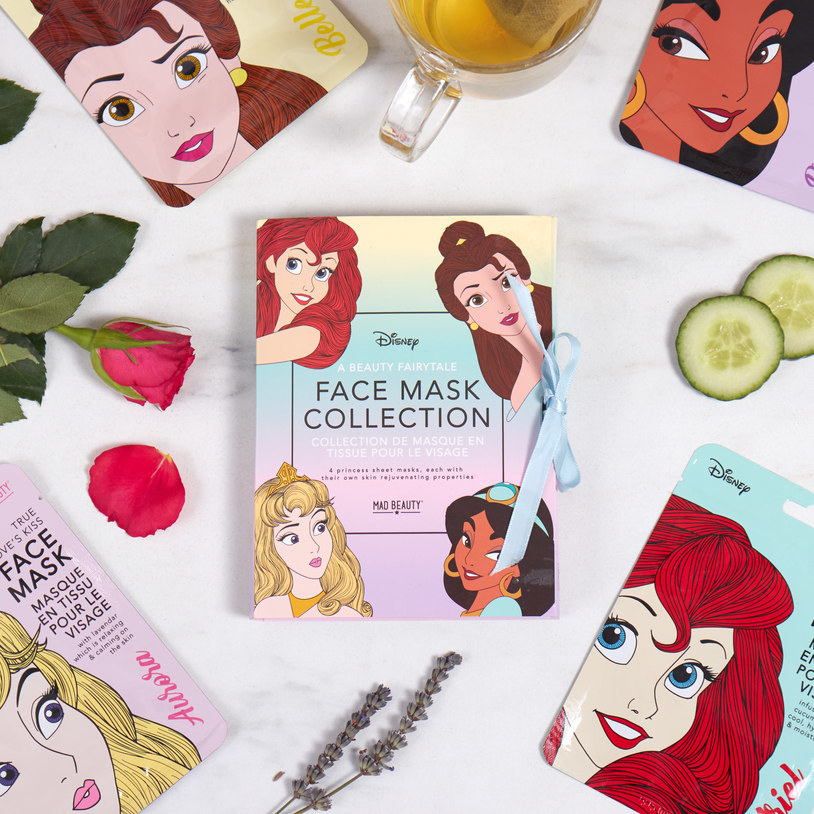 5d1b54ea11 A set of princess face masks made for snapping magical selfies and  pampering yourself like true royalty.