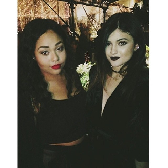 Kylie and Jordyn have been friends since 8th grade, after meeting through mutual friends. Jordyn hung out with friends at Kylie's house,  put her number in Kylie's phone  with a purple heart, and the rest is history.