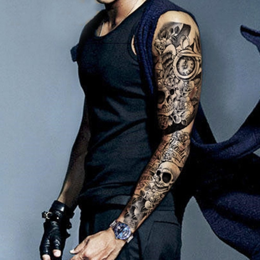 Whole Sleeve Tattoo: 48 Temporary Tattoos You'll Want On Your Body Immediately