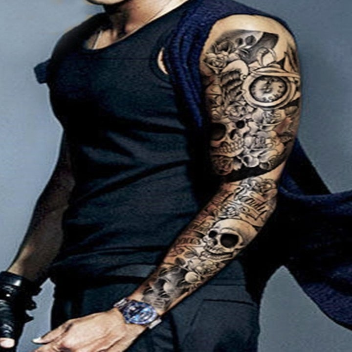 Random Tattoo Sleeve: 48 Temporary Tattoos You'll Want On Your Body Immediately