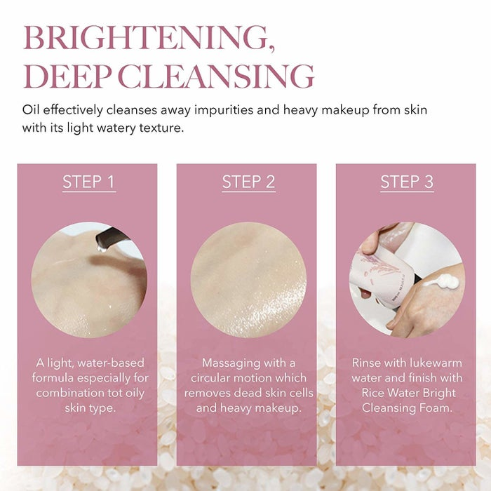 It's not just for your nighttime routine: follow up in the morning with a double cleanse to remove any oil you might have formed or accumulated while sleeping!