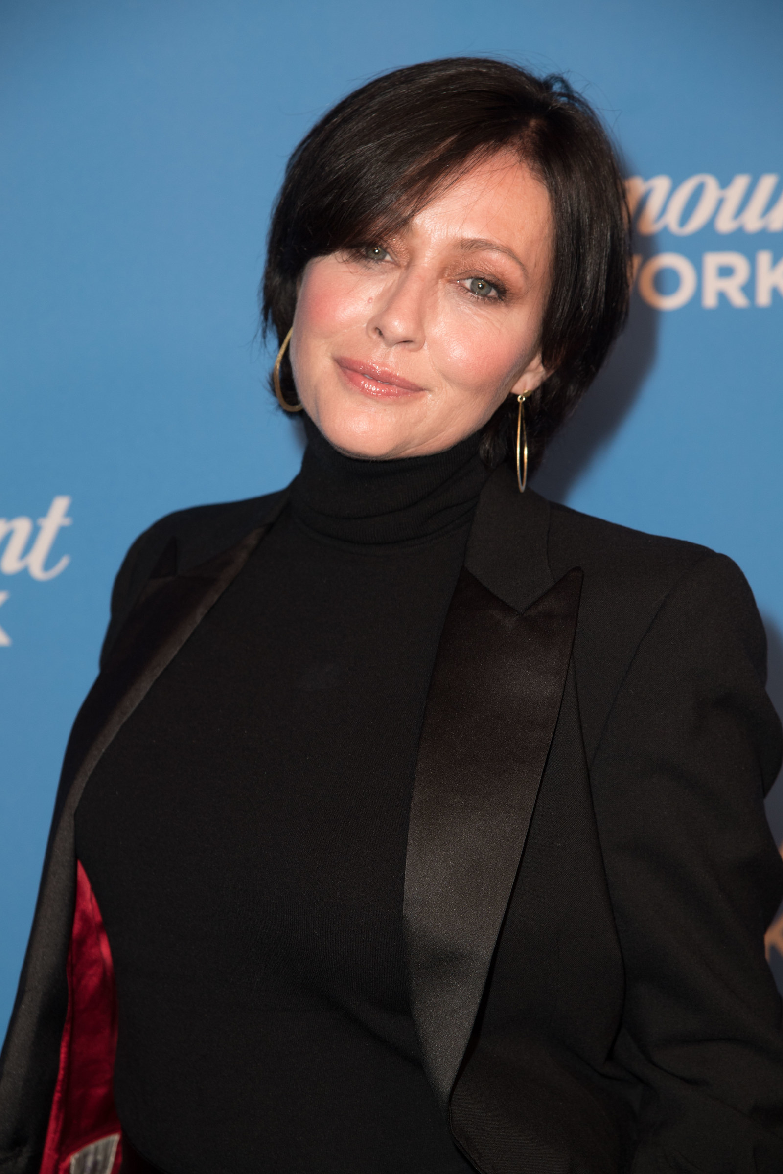Shannen Doherty as Brenda Walsh - Then:  Mostly annoying but sometimes endearing Brenda Walsh (I said it!) Now:  Total badass! Shannen was diagnosed with breast cancer in 2015, and now she's been in remission for two years.
