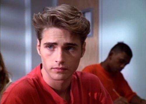 Jason Priestley as Brandon Walsh - Then:  That hair!