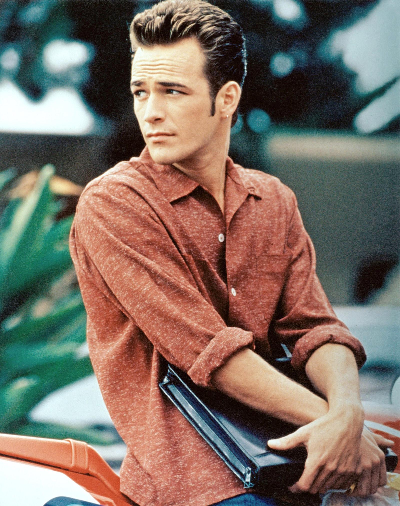 Luke Perry as Dylan McKay - Then:  Teen heartthrob.