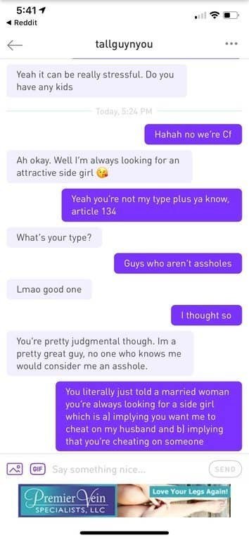 """16 Screenshots Of Interactions With """"Nice Guys"""" That Are So"""
