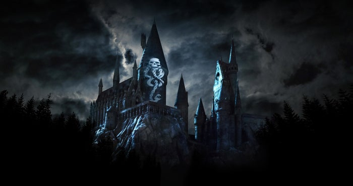 """You may have seen past shows at Wizard World like """"The Nighttime Lights at Hogwarts Castle"""" or """"The Magic of Christmas at Hogwarts Castle,"""" but this one is said to be a departure bringing more """"intense tones and drama."""""""