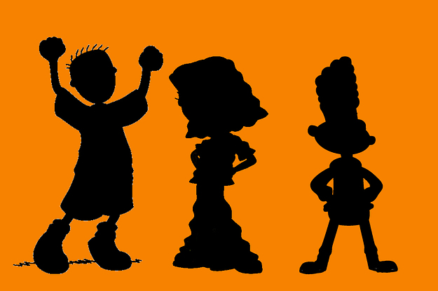 Which Nickelodeon Characters Are These?