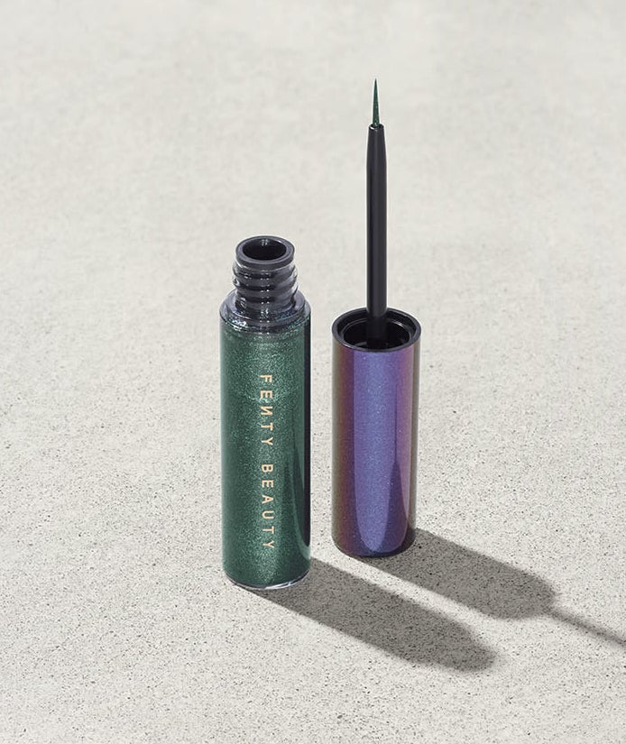 This eyeliner is available in three colors: Alien Bae (blue), Later Crater (nude), and Nepturnt (green). Plus, it's cruelty-free!Get it from Fenty Beauty for $20.