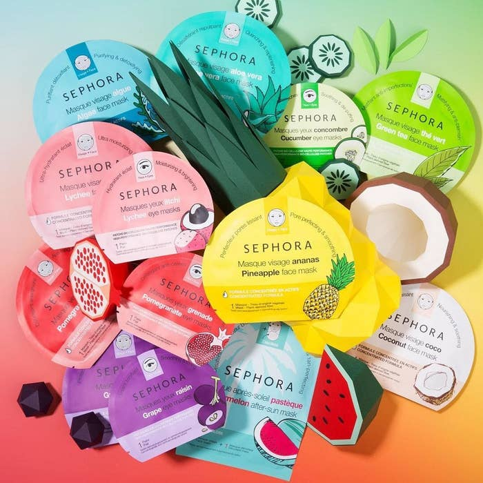 7daf98652b3 Sephora's face mask collection offers up a special option to tackle a  variety of skin problems. Dryness? Check. Dullness? Yup. Blemishes? YOU GOT  IT!