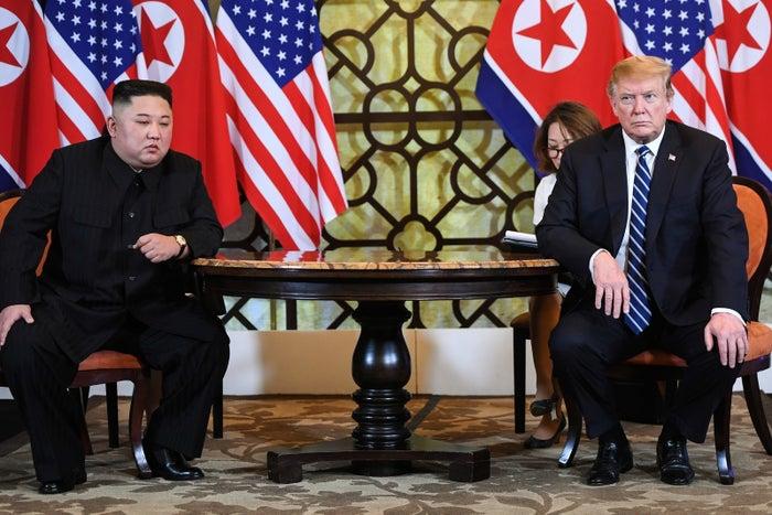 金正恩委員長とトランプ大統領