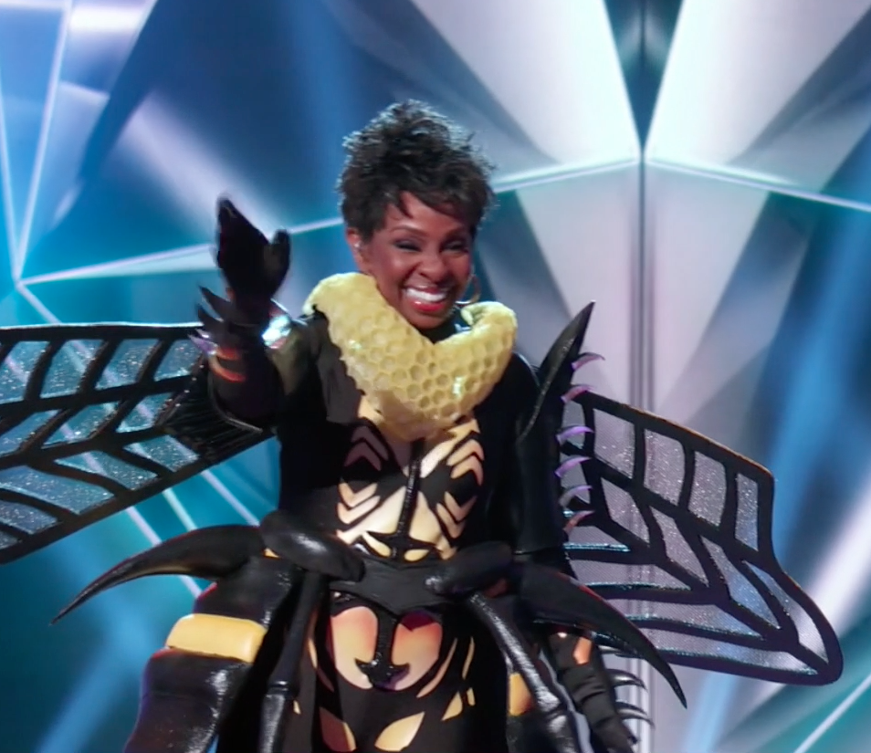 """Gladys Knight was Bee - Biggest clue revealed:  That her singing career began in the 1950s and when she said """"It makes me feel like I'm every bee — it's all in me"""" (a nod to """"I'm Every Woman"""")."""