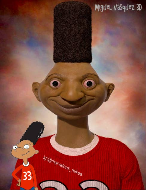 The Hey Arnold Characters As Real Life Humans Is The Most