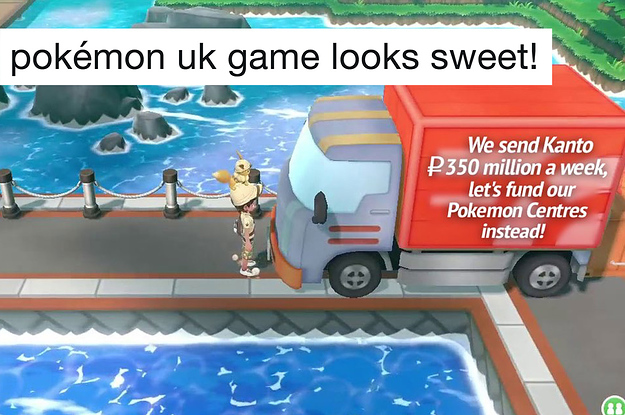 The New Pokemon Games Are Set In A Uk Inspired Region And The Tweets