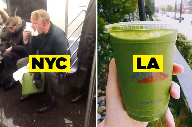 26 Pictures That Perfectly Sum Up The Difference Between NY And LA