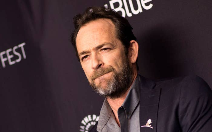 Luke Perry at a 2018 screening of Riverdale in Hollywood.