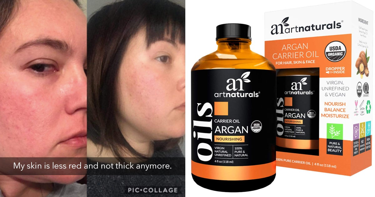 This Highly Rated Argan Oil Will Give You The Smooth Hair Of Your Dreams
