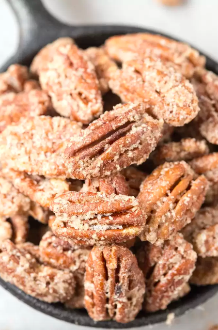 This recipe swaps out regular white sugar with a granulated sweetener of your choice, but you could totally use regular sugar if your diet permits. Get the recipe.