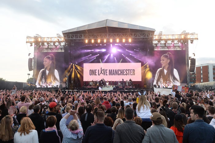 One Love was put together by Ariana and her team to help those affected by the tragic bombing which claimed 22 lives outside her Manchester concert back in 2017.
