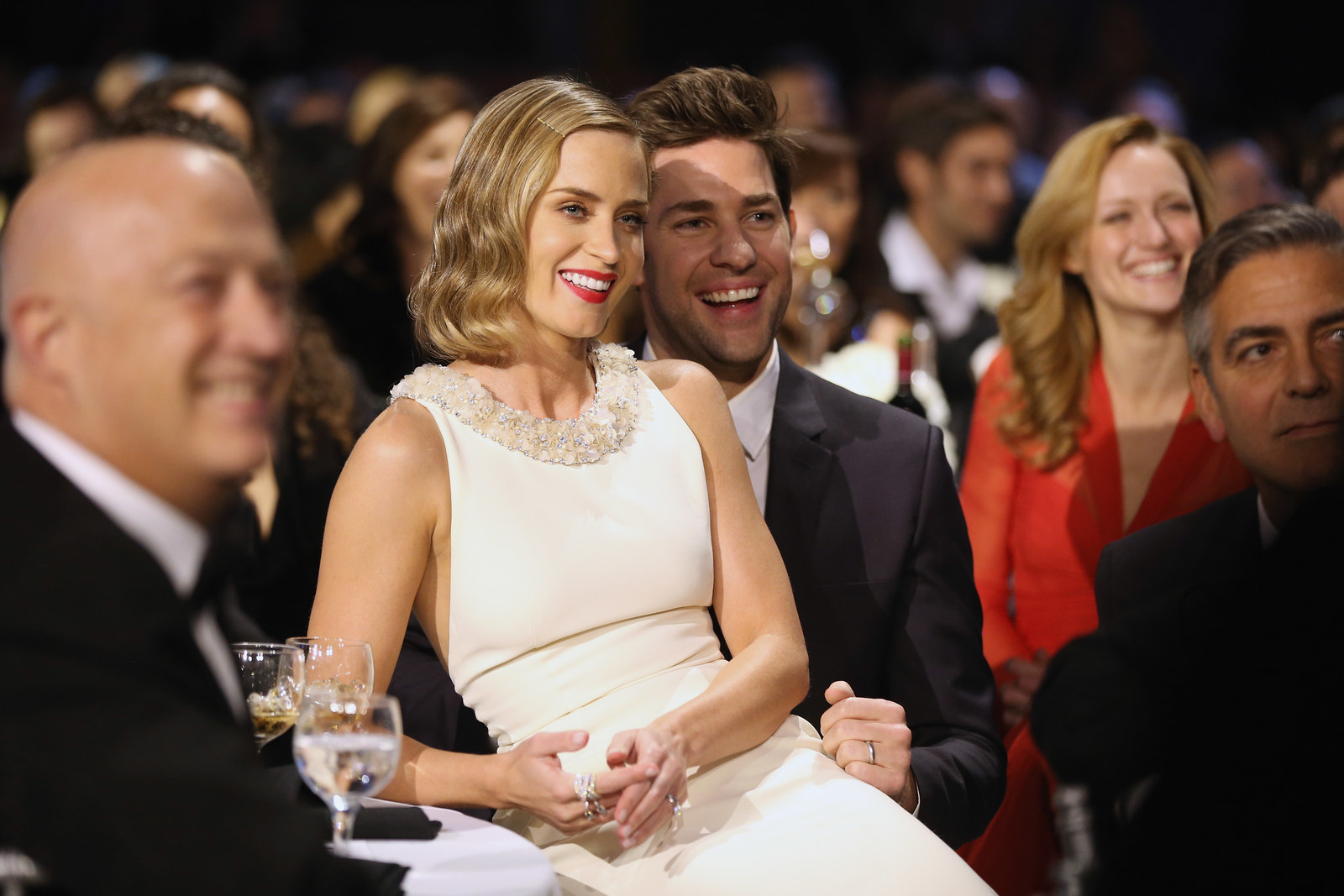 Emily Blunt and John Krasinski are one of the cutest couples in Hollywood.