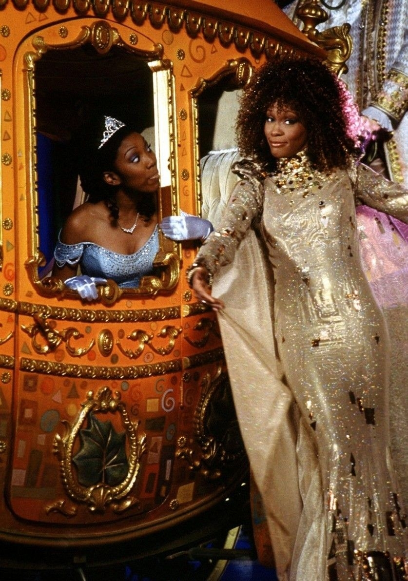Or executive produced the legendary  Cinderella , giving us Brandy, the only black princess we acknowledge.