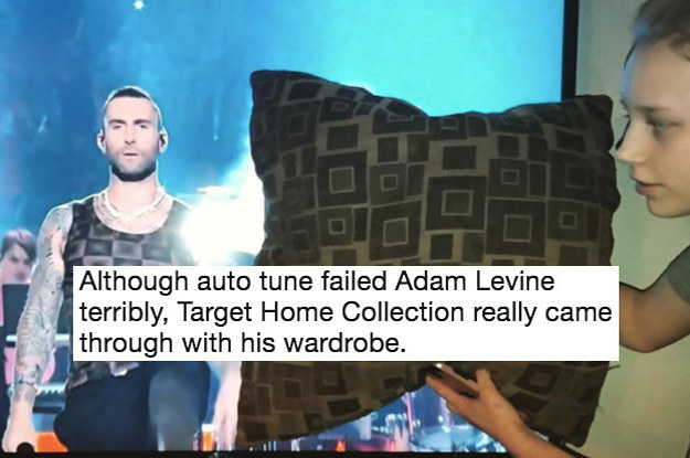 22 Things Adam Levine Totally Looked Like At The Super Bowl