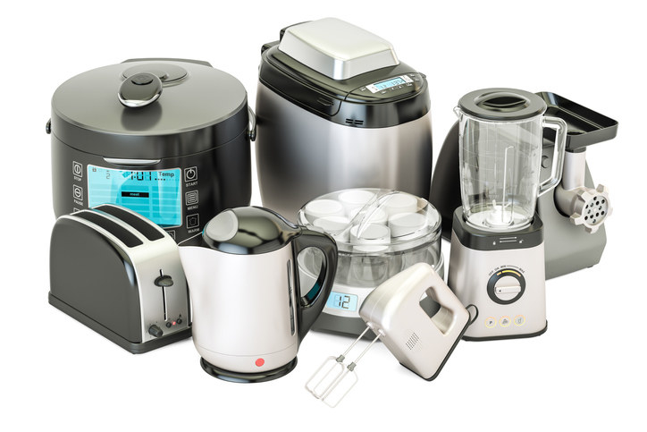 """Do you have small cooking appliances that you bought when they were a fad and have tired of or haven't used for years? It is time to thank them for the role they have played in your life, and bid them farewell,"" says Kondo. And the ones you do use? Stash them in your cupboards so they're out of sight. ""Seldom-used, but still important, items should be stored on a top shelf or at the back of a cupboard,"" says Kondo. ""It won't matter if they require a little effort to remove when needed."""