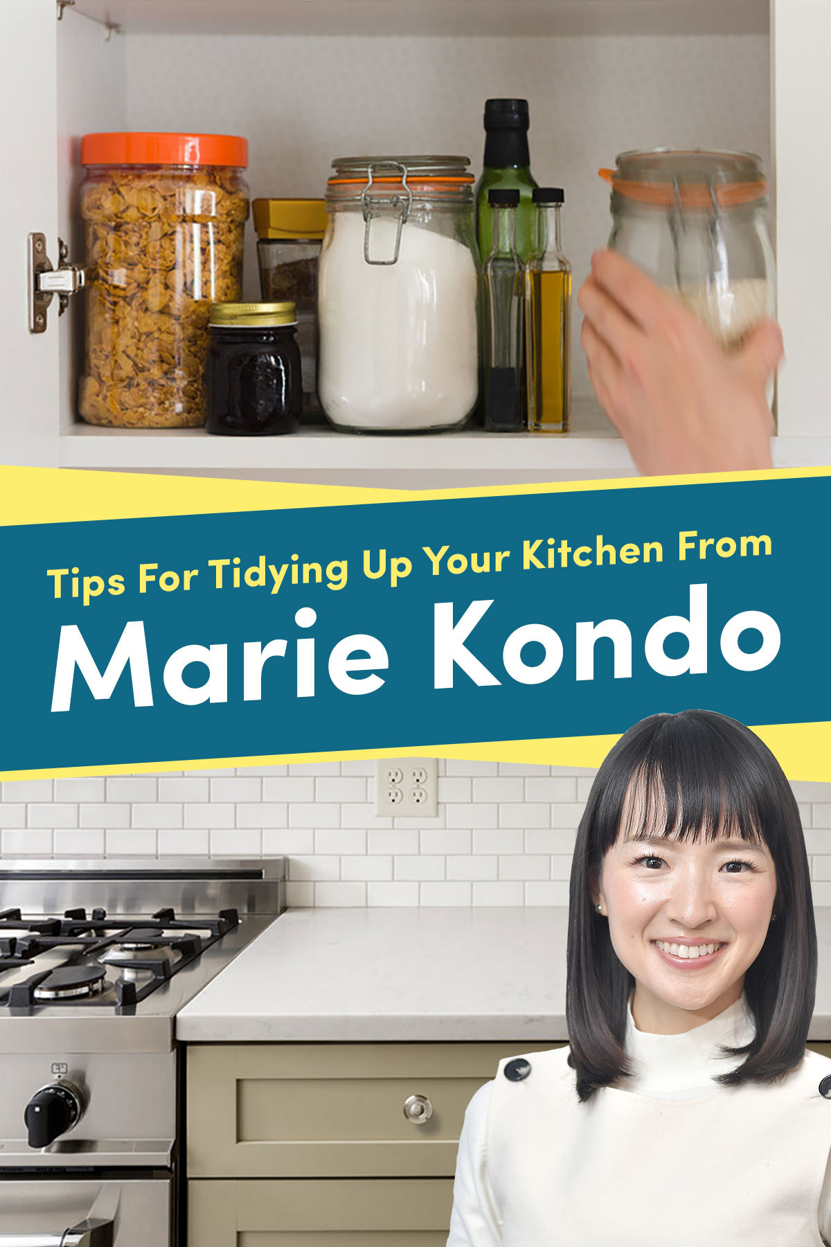 11 Tips For Tidying Up Your Kitchen From Marie Kondo