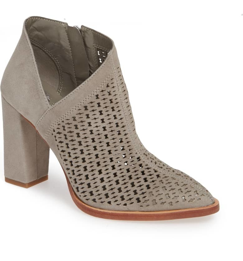 """Promising review: """"Love these booties! They are tall, but still comfortable and easy to walk in. Look great with a dress, jeans, leggings or pants. I will wear these a lot."""" —slattaGet them from Nordstrom for $149.95 (available in sizes 4–12 and four colors)."""