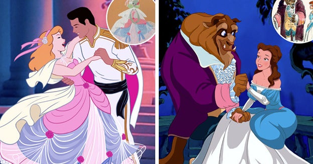 This Artist Reimagined Disney Princesses Based On Original Concept Art And, Hello, I Am Here For This