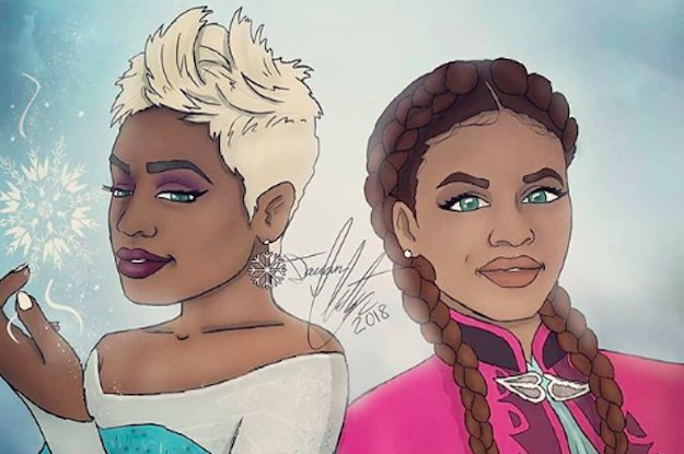 This Artist Reimagined Disney Princesses As Black Women And The Images Are Incredible