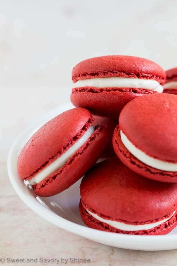 Red Velvet Macarons  -  The trick to getting that stunning red color?
