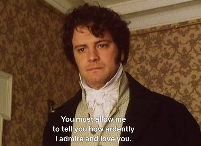 37 Times Colin Firth Proved He's The Only Mr Darcy That Matters
