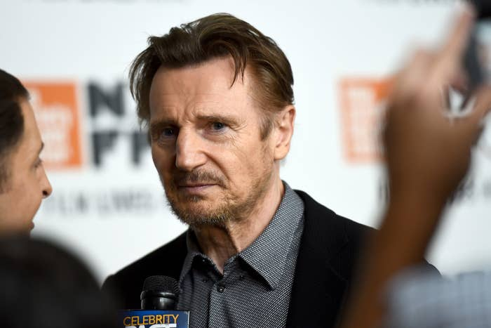 Liam Neeson in October 2018.