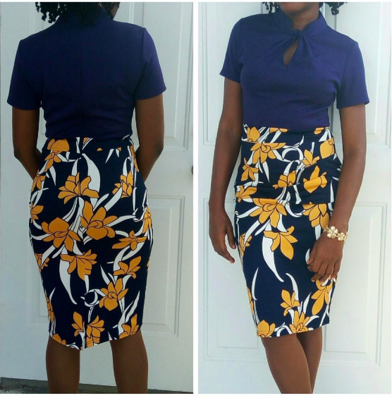 7345a78b959 A cool pencil dress for anyone who prefers their workwear with a (literal)  twist.