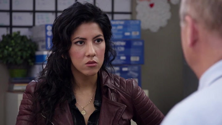 Rosa Diaz  didn't exist  in the original pilot script for  Brooklyn Nine-Nine  — a character named Megan was later turned into Rosa after Stephanie Beatriz came in to audition.
