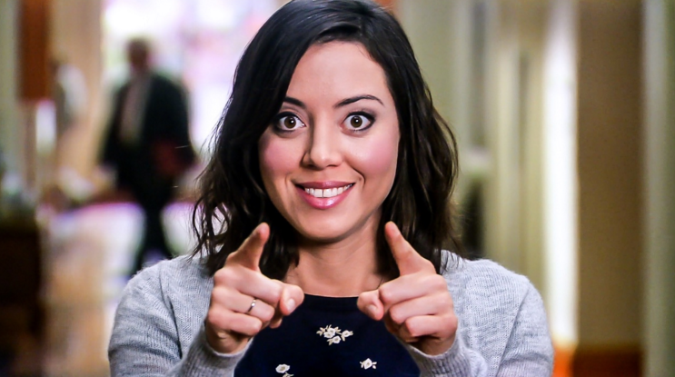 Also, April Ludgate  didn't originally exist  on  Parks and Recreation  — the part was created for Aubrey Plaza.