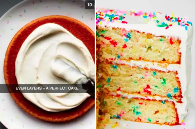 12 Tips To Make A Perfect Birthday Cake