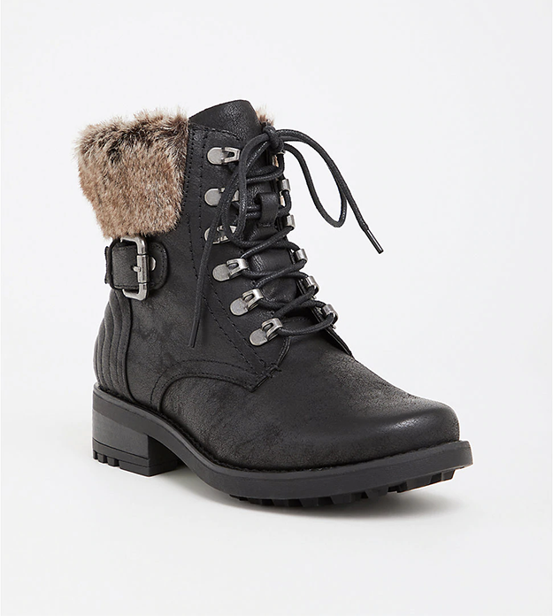 Get them from Torrid for $74.90 (available in sizes 7W–12W).